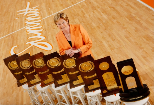 Pat with 8 trophies