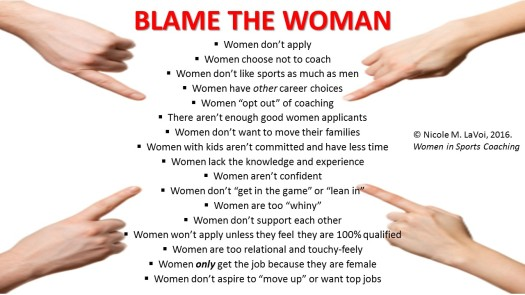 BLAME THE WOMAN slide